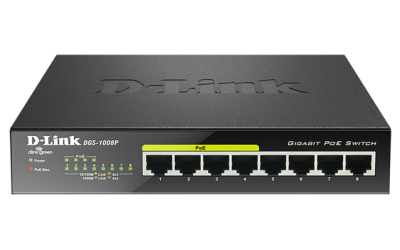 Switch 8 ports de bureau Gigabit PoE